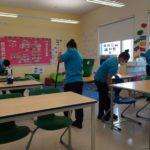 شركة تنظيف مدارس بالجبيل 0552744429 ( خصم 25%) تنظيف وتعقيم وتطهير