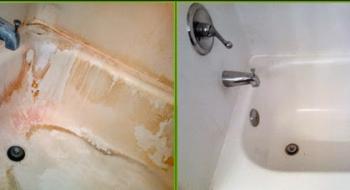 تنظيف بلاط الحمام من الترسبات